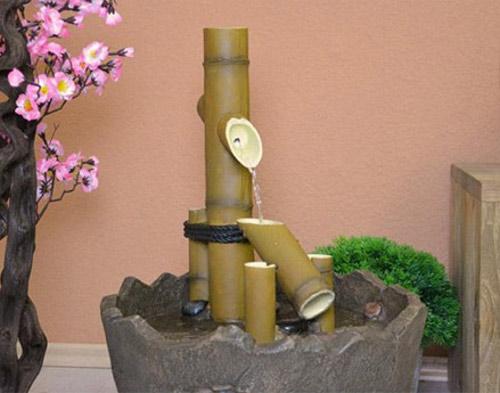 Fontána do japonské zahrady