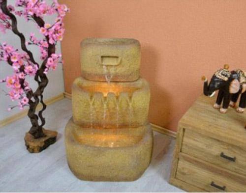 Kašna jako dekorace do wellness