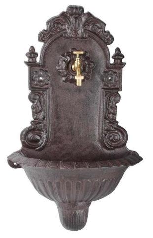 Nástěnná dekorační fontána Old