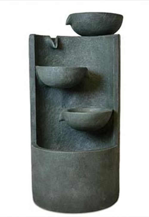 Originální kaskádovitá fontánka s LED osvětlením