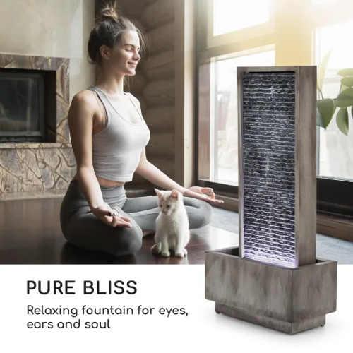 Relaxační  fontána pro domácí meditace