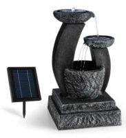 Romantická solární zahradní fontána Fantaghiro