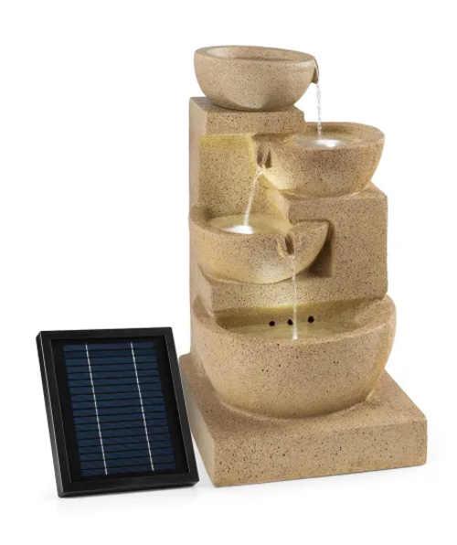 Solární zahradní kašna Blumfeldt Korinth