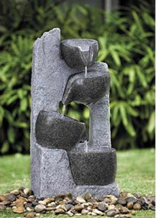 Zahradní fontána Kamenné misky