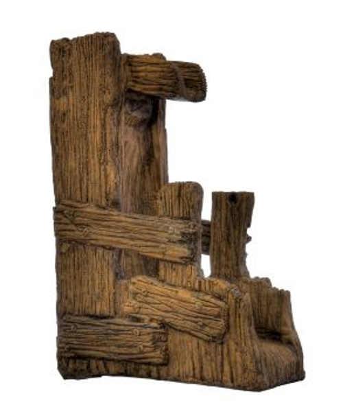 Zahradní fontána umělý kámen napodobující dřevo