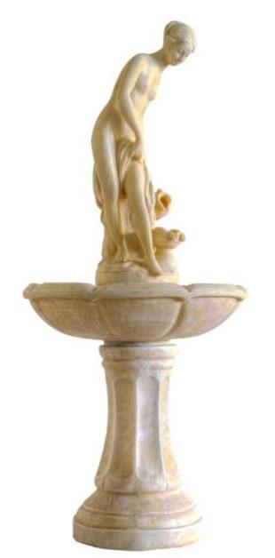 Zahradní kašna - fontána ptačí lázeň