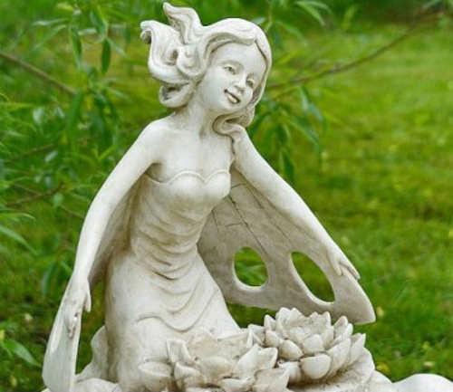 Zahradní kašna se sochou barokní styl