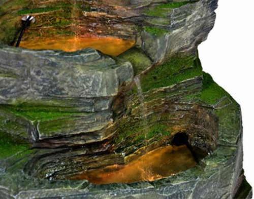 Zahradní kašna z umělého kamene starý vzhled