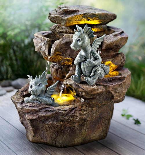 Interesantní zahradní fontána Gismo