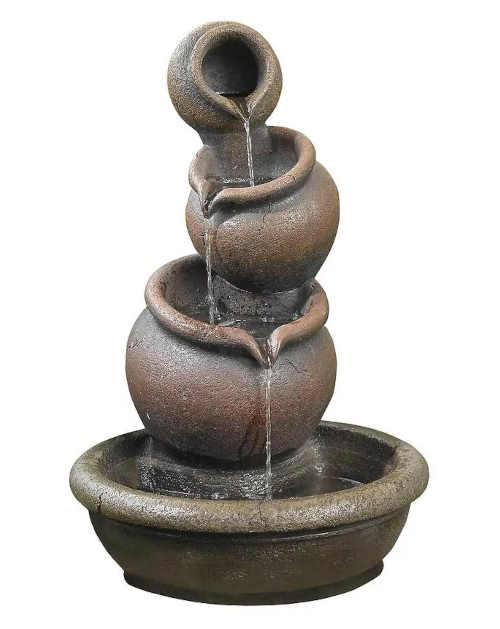 Zahradní fontána vhodná do exteriéru i interiéru