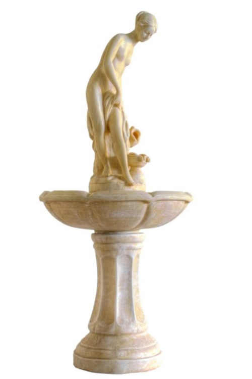Zahradní kašna - fontána v barokním stylu