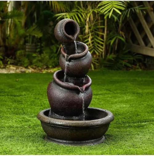 fontána Baumax z polyresinu
