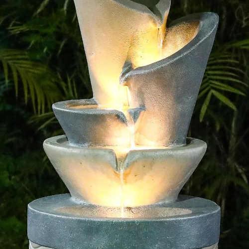 fontána v působivém designu Baumax