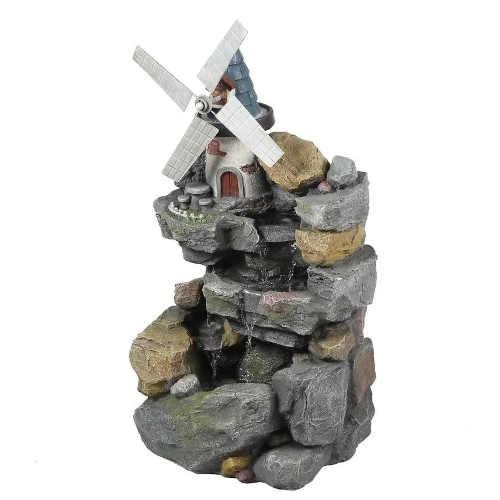 fontána ve vzhledu kamene