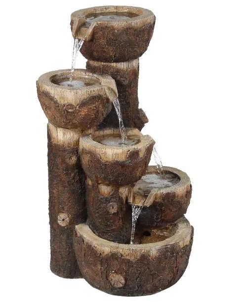 zahradní fontána v jedinečném provedení Baumax