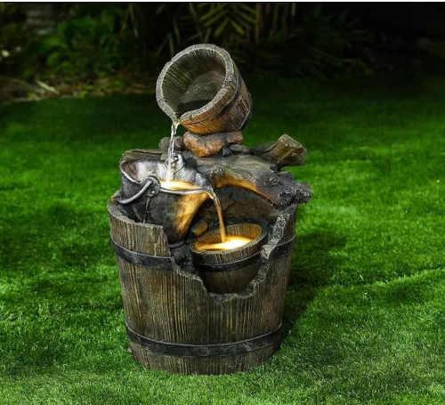 zahradní kvalitní fontána Baumax
