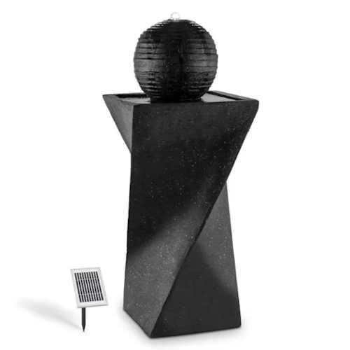 Solární fontána v moderním stylu