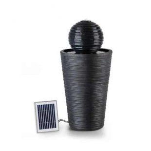 Solární fontána z mrazuvzdorného materiálu
