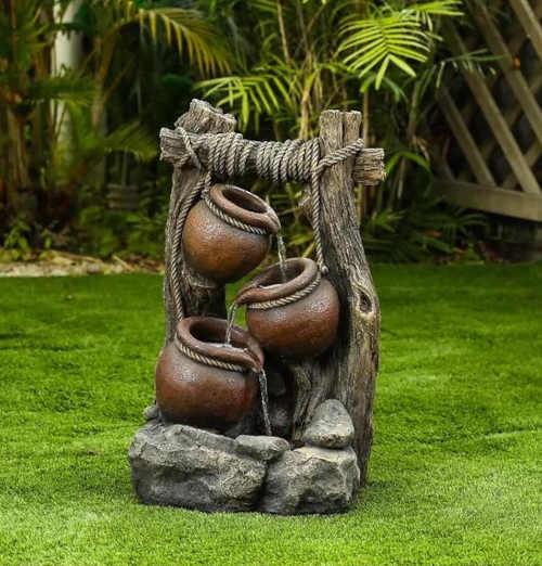 fontána do zahrady Baumax