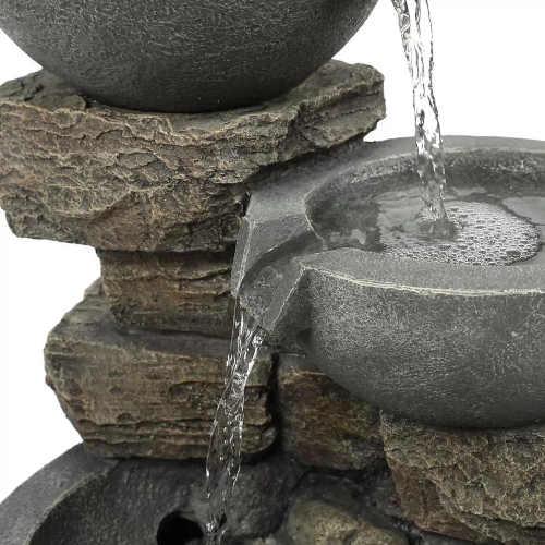 fontána v působivém designu
