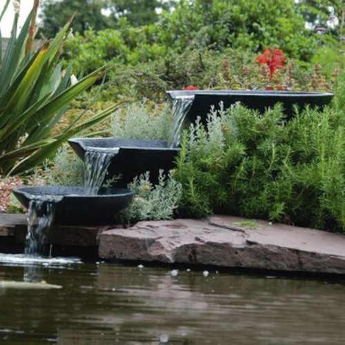 zahradní moderní vodopád ubbink
